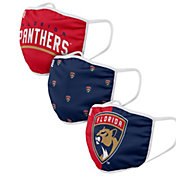 FOCO Youth Florida Panthers 3-Pack Facemasks