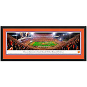Blakeway Panoramas Clemson Tigers Double Mat Deluxe Frame