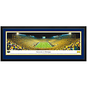 Blakeway Panoramas Michigan Wolverines Double Mat Deluxe Frame
