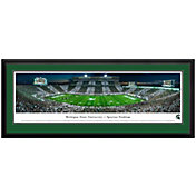 Blakeway Panoramas Michigan State Spartans Double Mat Deluxe Frame