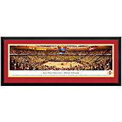 Blakeway Panoramas Iowa State Cyclones Double Mat Deluxe Frame