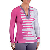 SwingDish Women's Becca Long Sleeve Golf Top