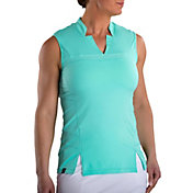 SwingDish Women's Adeline Sleeveless Golf Top