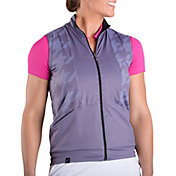 SwingDish Women's Florence Full Zip Golf Vest
