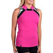SwingDish Women's Kora Sleeveless Golf Polo
