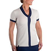 SwingDish Women's Maddox Short Sleeve Golf Top