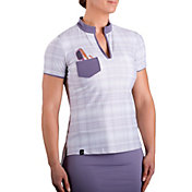SwingDish Women's Mia Short Sleeve Golf Polo