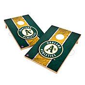 Victory Oakland Athletics 2' x 3' Solid Wood Cornhole Boards