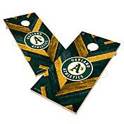 Victory Oakland Athletics 2' x 4' Solid Wood Cornhole Boards