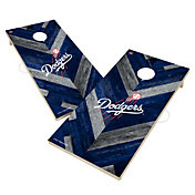 Victory Los Angeles Dodgers 2' x 4' Solid Wood Cornhole Boards