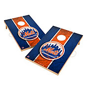 Victory New York Mets 2' x 3' Solid Wood Cornhole Boards