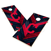 Victory Cleveland Indians 2' x 4' Solid Wood Cornhole Boards