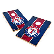 Victory Texas Rangers 2' x 3' Solid Wood Cornhole Boards