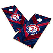 Victory Texas Rangers 2' x 4' Solid Wood Cornhole Boards