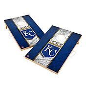 Victory Kansas City Royals 2' x 3' Solid Wood Cornhole Boards