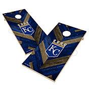 Victory Kansas City Royals 2' x 4' Solid Wood Cornhole Boards