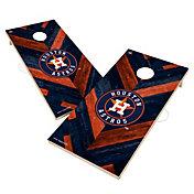 Victory Houston Astros 2' x 4' Solid Wood Cornhole Boards