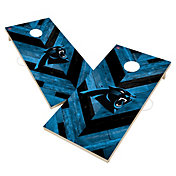 Victory Carolina Panthers 2' x 4' Solid Wood Cornhole Boards