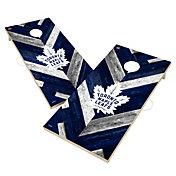 Victory Toronto Maple Leafs 2' x 4' Solid Wood Cornhole Boards