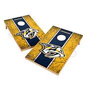 Victory Tailgate Nashville Predators 2' x 3' Solid Wood Cornhole Boards