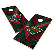 Victory Minnesota Wild 2' x 4' Solid Wood Cornhole Boards