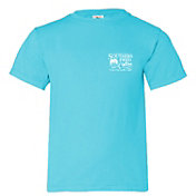 Southern Fried Cotton Girls' Gingham Sand Dollar Short Sleeve T-Shirt