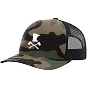 Up North Trading Company Men's Jolly Roger Snapback Hat
