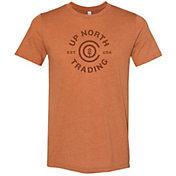 Up North Trading Company Men's Harbor Text Short Sleeve T-Shirt