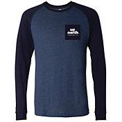 Up North Trading Company Men's Pocket Long Sleeve T-Shirt