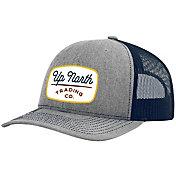 Up North Trading Company Men's Script Patch Snapback Trucker Hat
