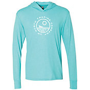 Up North Trading Company Women's Logo Hooded Long Sleeve T-Shirt