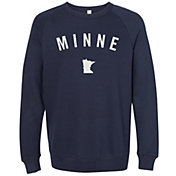 Up North Trading Company Women's Minne Felt Crew Sweatshirt