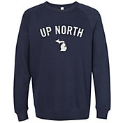 Up North Trading Company Women's Michigan Crew Sweatshirt
