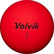 Volvik 2020 ViMax Matte Red Golf Balls