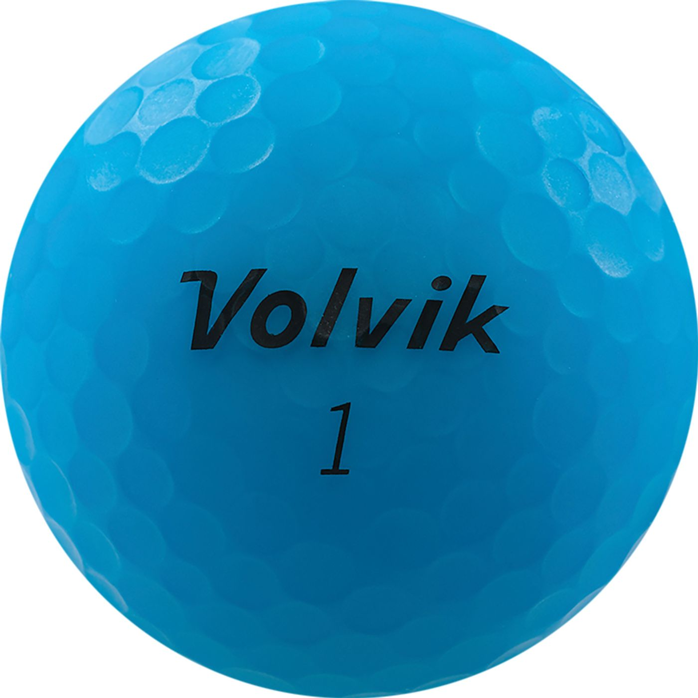 Volvik 2020 VIVID Matte Blue Personalized Golf Balls