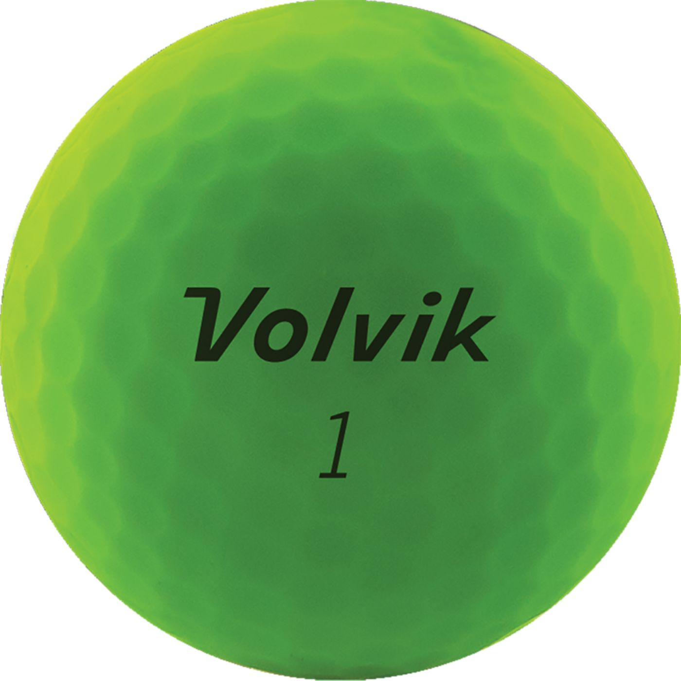 Volvik 2020 VIVID Matte Green Personalized Golf Balls