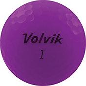 Volvik 2020 VIVID Matte Purple Personalized Golf Balls