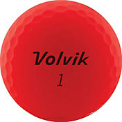 Volvik 2020 VIVID Matte Red Personalized Golf Balls