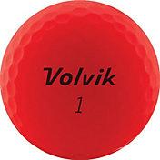 Volvik 2020 VIVID Matte Red Golf Balls