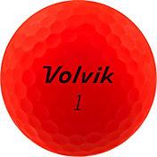 Volvik 2020 VIVID XT AMT Matte Red Golf Balls