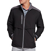 Walter Hagen Men's Full-Zip Mock Rain Jacket