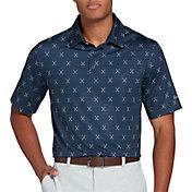 Walter Hagen Men's Big & Tall Perfect 11 Cross Clubs Printed Golf Polo