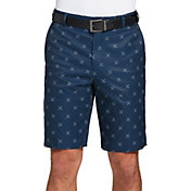 Walter Hagen Men's Perfect 11 Cross Clubs Printed Golf Shorts