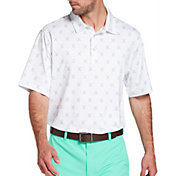 Walter Hagen Men's 11 Majors Cross Clubs Golf Polo