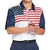 Walter Hagen Men's Perfect 11 Americana Golf Polo
