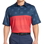 Walter Hagen Men's P11 Americana Tonal Flag Golf Polo