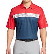 Walter Hagen Men's Perfect 11 Americana Camo Stripe Golf Polo