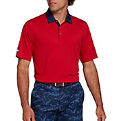Walter Hagen Men's Perfect 11 Solid Golf Polo