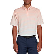 Walter Hagen Men's Perfect 11 Allover Ombre Stripe Golf Polo