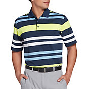 Walter Hagen Men's P11 Multi Bold Stripe Golf Polo